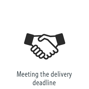 Meeting the delivery deadline