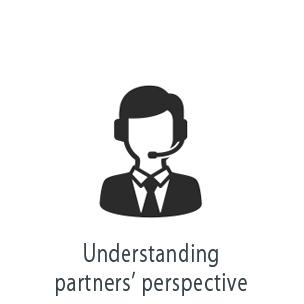Understanding partner's perspective